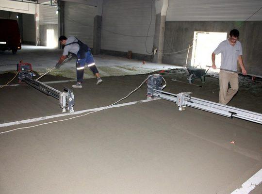 Етап първи от полагане на подова настилка от креатив м
