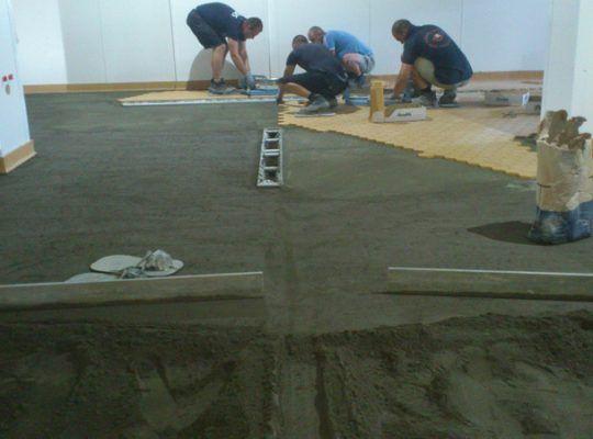Етап трети от полагане на подова настилка от креатив м
