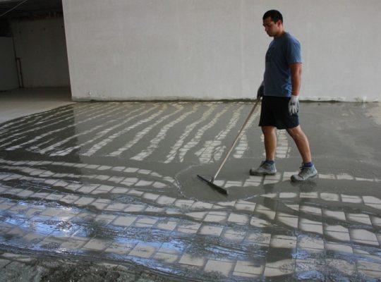 машинно фугиране и почистване на подовата настилка